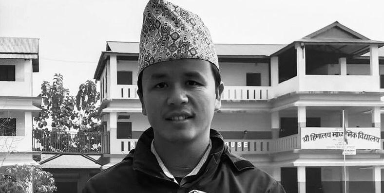 हिमालय माध्यमिक बिद्यालयका शिक्षकको करेन्ट लागेर मृत्यु