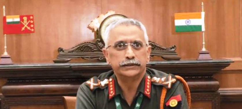 भारतीय सेनाध्यक्ष नरवणे काठमाडौं आइपुगे