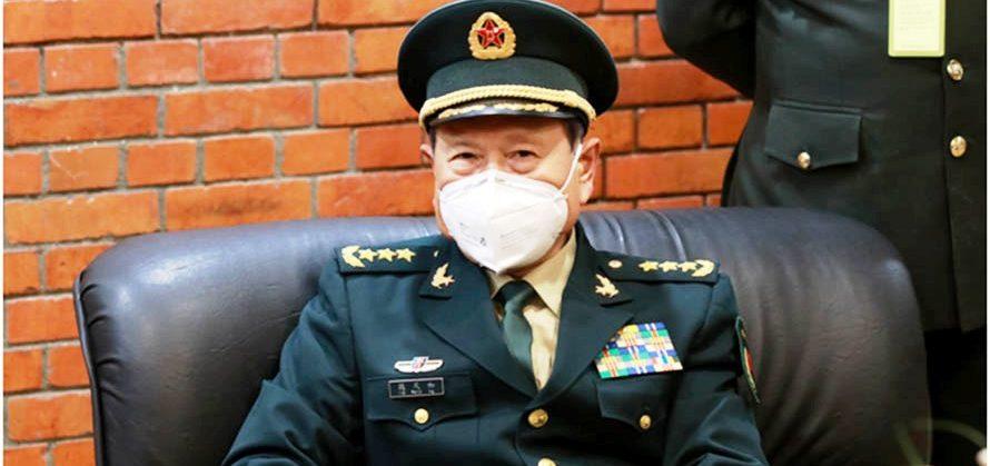 चिनियाँ रक्षामन्त्री एक दिने औपचारिक भ्रमणमा आइपुगे काठमाडाैं