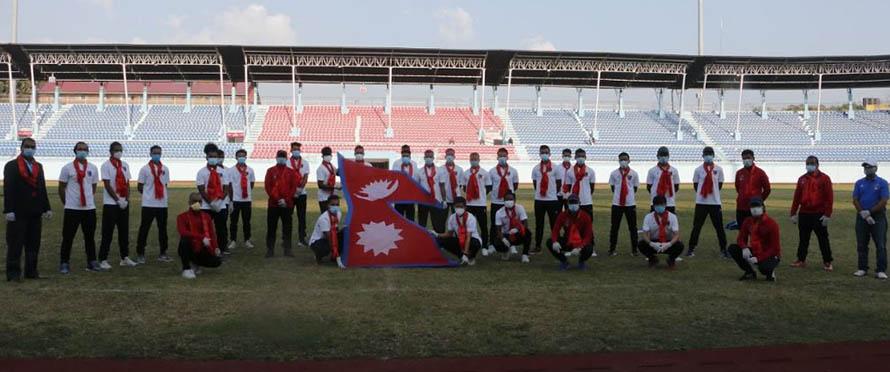 बंगलादेशसँग खेल्ने नेपाली फुटबल टिमकाे घोषणा