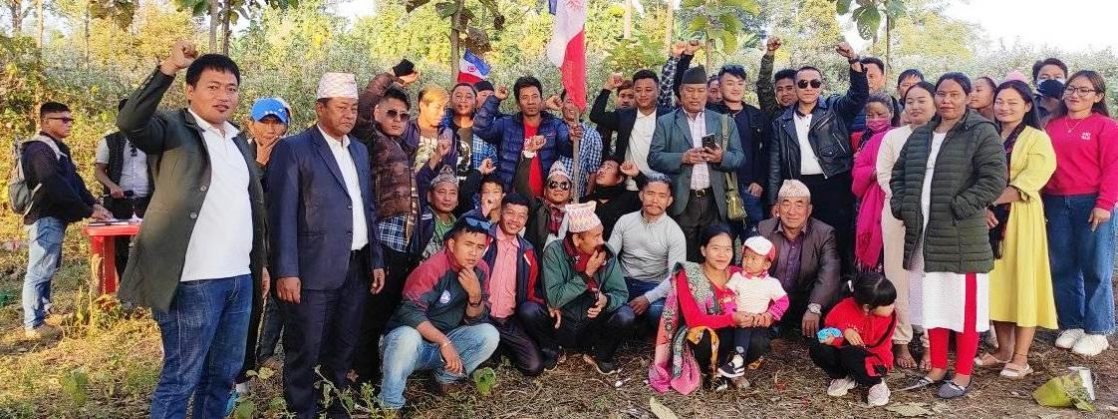 लेटाङमा लिम्बुवानको राजनीति अन्तरक्रिया कार्यक्रम