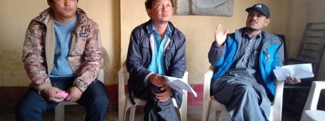 किरात मोर्चा लिम्बुवानको संयोजन समिति गठन
