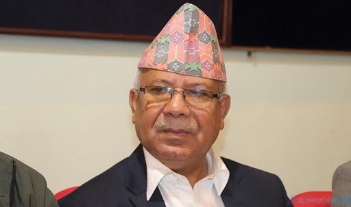 प्रचण्ड–नेपाल समूबाट माधव नेपाल अध्यक्ष प्रस्ताव