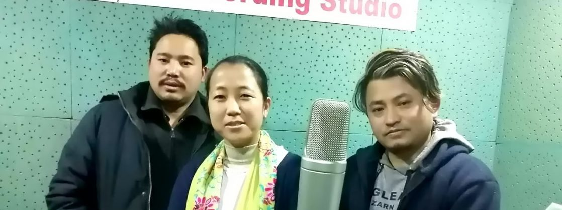 लिम्बु कथानक चलचित्र 'थिम'को चिङि्सन्नासाङ बोलको गीत रेकर्ड