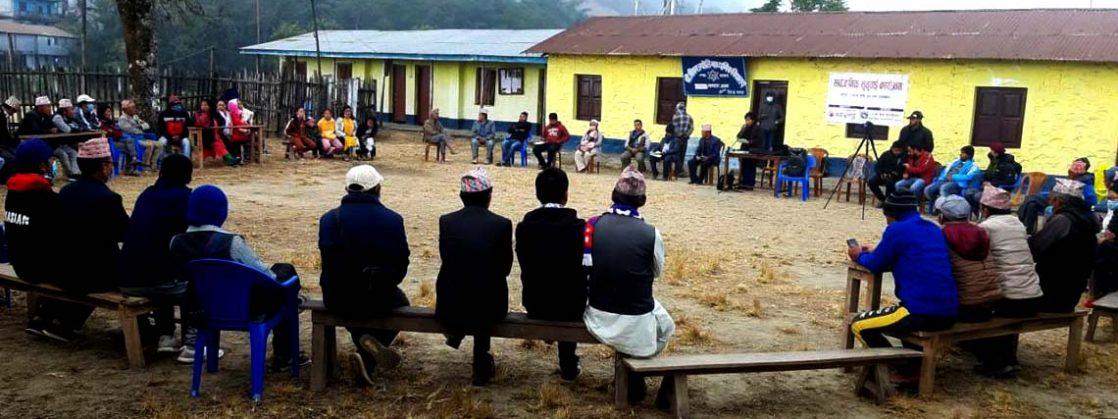 इलामको माङसेबुङ ३ मा पहिलोपटक सार्वजनकि सुनुवाई